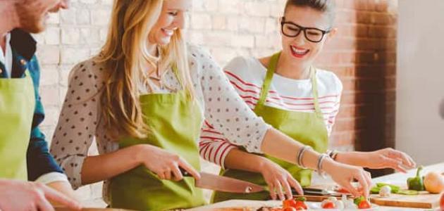 أساسيات تعلم فن الطبخ للمبتدئين