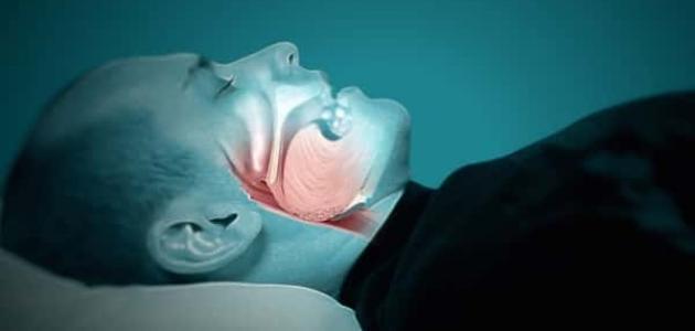 طرق علاج ضيق التنفس عند النوم