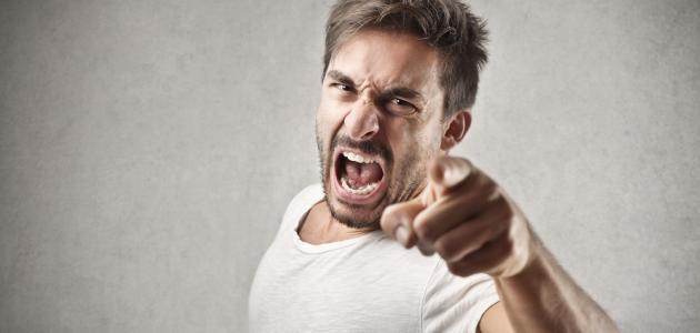 أضرار الغضب على الصحة