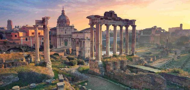 معلومات عن الحضارة الرومانية