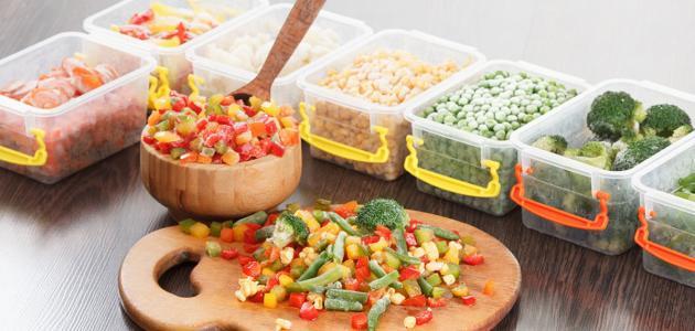 أهم طرق حفظ الطعام