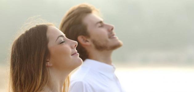كيف تتم عملية التنفس عند الإنسان