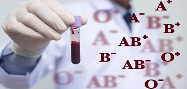 معلومات عن فصيلة الدم AB