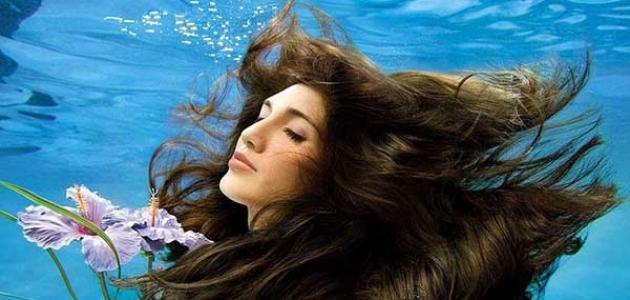 فوائد ماء البحر للشعر