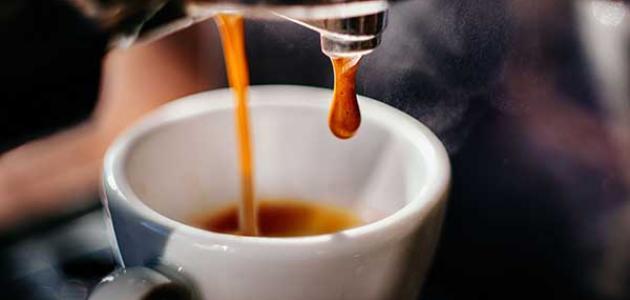 طريقة عمل قهوة أسبريسو