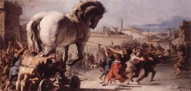معلومات عن حرب طروادة