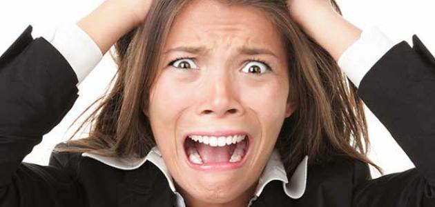 أعراض الانهيار العصبي