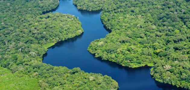 أين يقع نهر الأمازون ومساحته