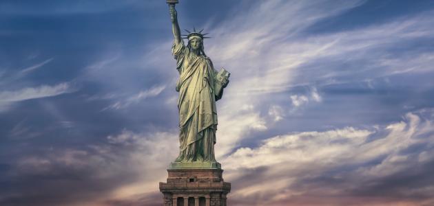 معلومات عن تمثال الحرية سطور