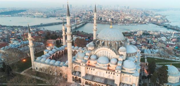 معلومات عن مسجد السليمانية