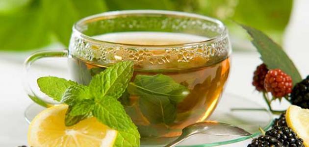 فوائد الشاي الأخضر على الريق