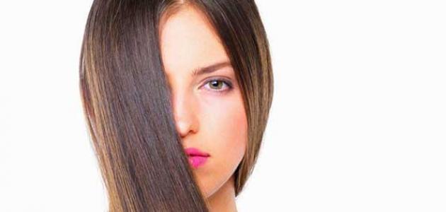 أضرار فرد الشعر بالنشا