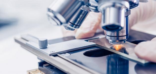 ما هي أنواع الميكروسكوب