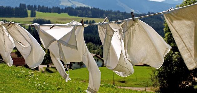 طرق إزالة الصدأ من الملابس