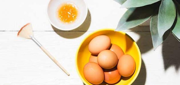 ماسك البيض والعسل للوجه