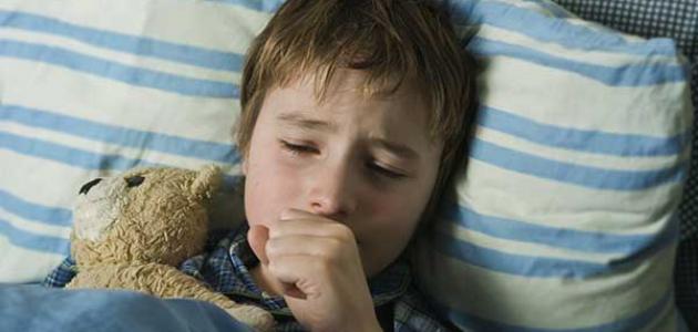 أسباب السعال عند الأطفال