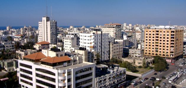 معلومات عن مدينة غزة