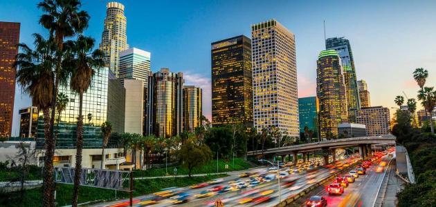 معلومات عن مدينة لوس أنجلوس