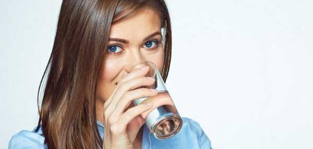 فوائد الماء للشعر