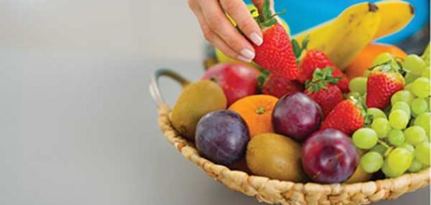 الفاكهة الممنوعة في الرجيم