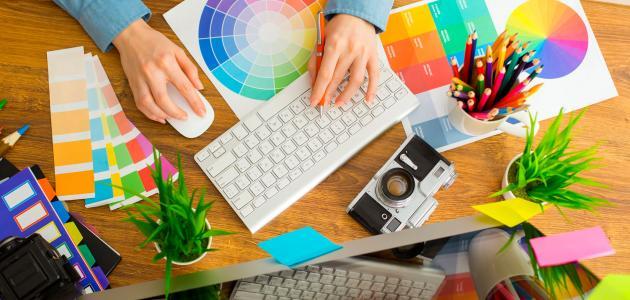 تخصص التصميم الجرافيكي سطور