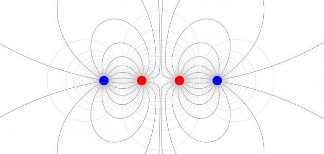 تعريف شدة المجال الكهربائي سطور