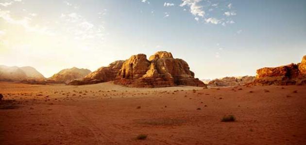 موضوع تعبير عن الصحراء