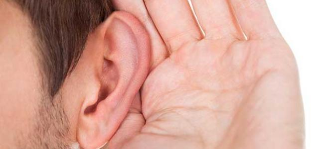 ارتشاح خلف طبلة الأذن