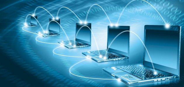 بحث عن شبكات المعلومات