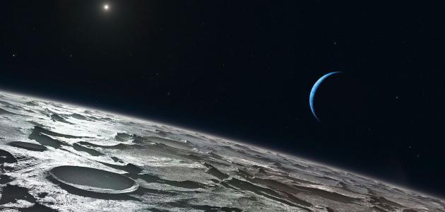 معلومات عن سطح القمر