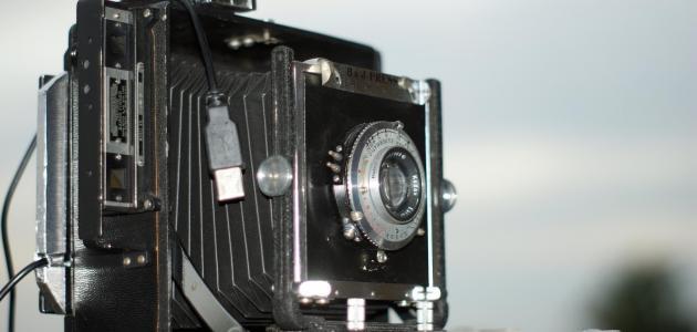 متى اخترعت الكاميرا