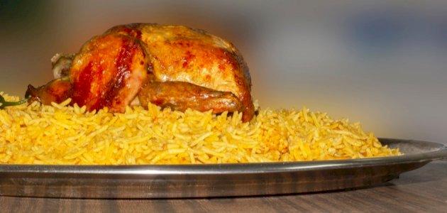 طريقة عمل مندي دجاج بالفرن