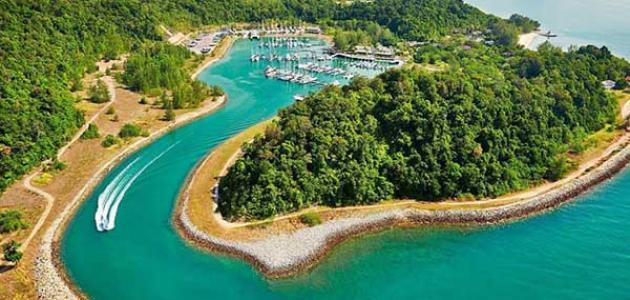 معلومات عن جزيرة لنكاوي