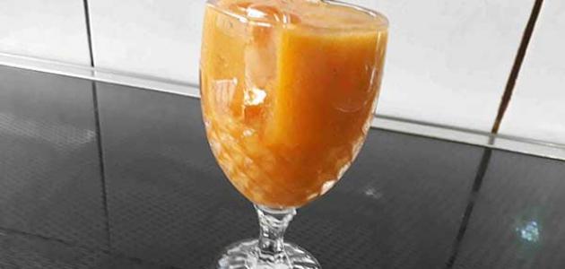طريقة عمل عصير المشمش المجفف