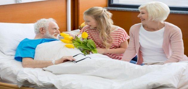 موضوع تعبير عن زيارة المريض
