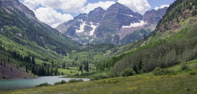أنواع الجبال