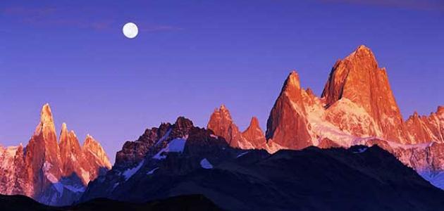 تعريف الجبال