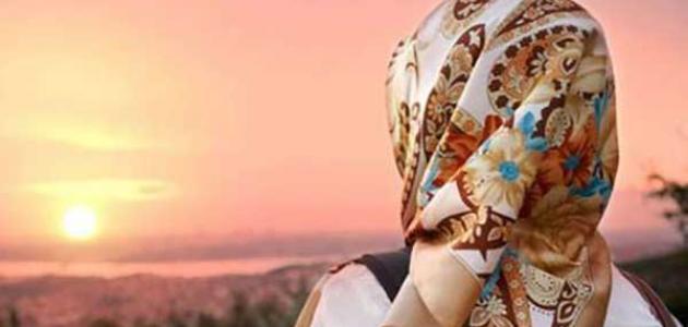 ما حكم نزول دم الحيض قبل أذان المغرب للصائم