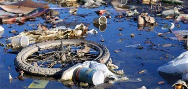 موضوع عن تلوث المياه سطور