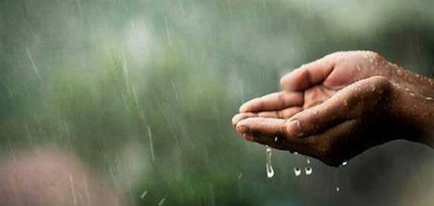 دعاء طلب المطر - سطور