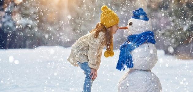 موضوع تعبير عن وصف فصل الشتاء