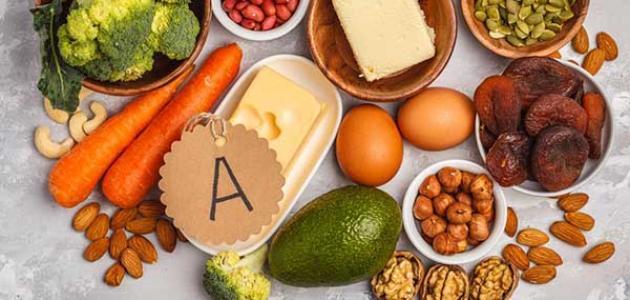 أسباب نقص فيتامين A