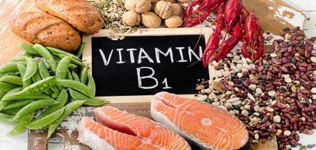 أعراض نقص فيتامين B1