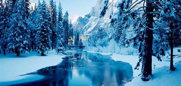 عبارات عن الشتاء