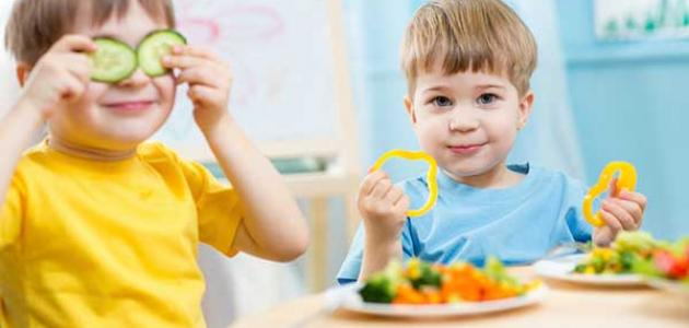 أكلات صحية للأطفال