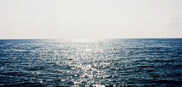 أنواع البحار