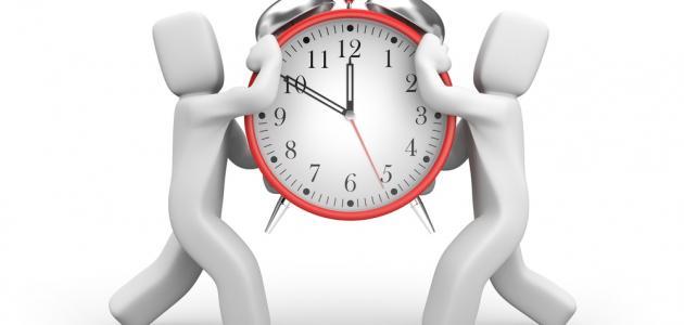 موضوع تعبير عن أهمية الوقت للصف الخامس الابتدائي