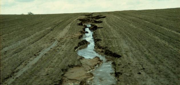 تعريف تعرية التربة