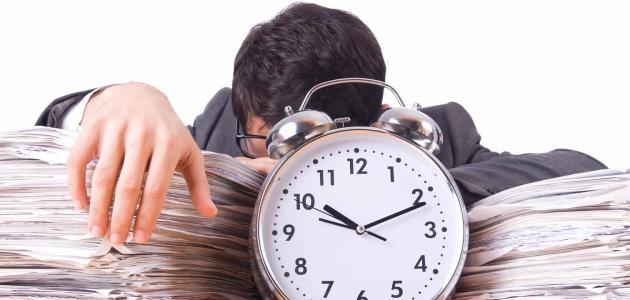 موضوع عن استغلال وقت الفراغ