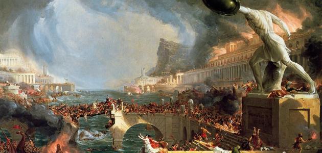 تاريخ الحضارة الرومانية القديمة
